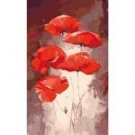 Творчество: Картина по номерам - Красные маки