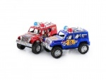 Набор машинок игрушечных, полиция