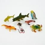 Набор игрушечных морских животных