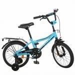 """Велосипед детский двухколесный Top Grade 18"""", бирюзовый"""