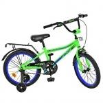 """Велосипед детский двухколесный Top Grade 18"""", салатовый"""