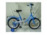 """Велосипед детский двухколесный Flower 16"""", голубой"""