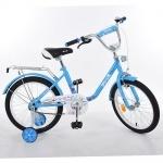 """Велосипед детский двухколесный Flower 14"""", голубой"""