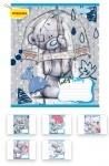 Тетрадь в клеточку А5/12 Me-To-You blue