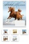 Тетрадь в клеточку А5/48 Wild Horses