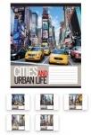Тетрадь в клеточку А5/48 Urban Life
