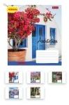 Тетрадь в клеточку А5/48 Architec&Flowers