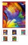 Тетрадь в клеточку А5/48 Colorful