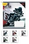 Тетрадь в клеточку А5/48 Moto Ride
