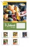 Тетрадь в клеточку А5/48 Natural Fruits