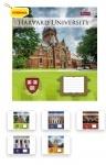 Тетрадь в клеточку А5/12 Harvard College life