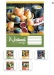 Тетрадь в клеточку А5/36 Natural Fruits