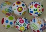 Детский мяч резиновый, 9 дюймов