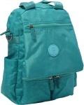 Молодежная сумка рюкзак трансформер Sonia, бирюза