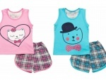 Пижама для девочки р.60
