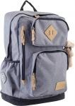 Рюкзак подростковый серый