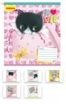 Тетрадь в линию А5/12 Little Meow Love