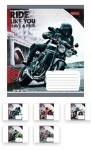 Тетрадь в линию А5/18 Moto Ride