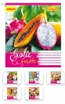 Тетрадь в клетку А5/18 Exotic Fruits