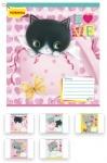 Тетрадь в клетку А5/12 Little Meow Love