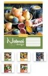 Тетрадь в клетку А5/24 Natural Fruits