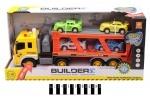 Игровой набор Builder трейлер инерционный