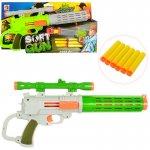 Пистолет игрушечный с мягкими пулями-присосками
