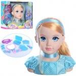 Кукла-манекен голова для причесок