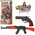Набор игрушечного оружия, пули-присоски