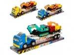 Трейлер игрушечный 42см + транпорт