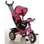 Детский трехколесный велосипед, розовый