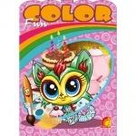 Детское творчество Fun color Весёлые животные (Рус)