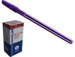 Ручка шариковая, фиолетовая
