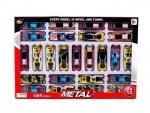 Набор игрушечных металлических машинок 25 штук