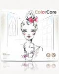 Карандаши цветные в металлическом пенале Color Core 24 цвета