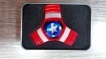 """Спиннер металлический бумеранг """"Captain America"""""""