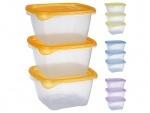 Набор контейнеров пластиковых для пищевых продуктов