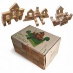 """Эко-кубики """"Маленький строитель"""", 80 элементов"""
