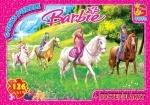 """Пазлы серии """"Barbie"""" 126 элементов"""