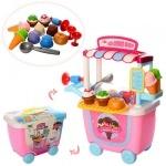 """Детский игровой набор в тележке """"Магазин мороженого"""""""