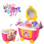 """Детский игровой набор для девочек на колесиках """"Салон красоты"""""""
