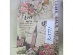 """Пакет подарочный бумажный """"Love never lies"""""""