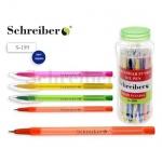 """Ручка шариковая """"Schreiber"""" синяя"""