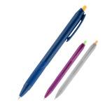 Ручка шариковая автоматическая Axent Impulse, синий, 0.7мм