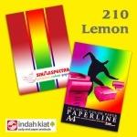 """Бумага """"Sinar spectra"""" А3 160г/м2 (250л) 210-лимон"""