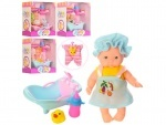 Пупс 11см с ванночкой Baby Toys
