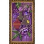 """Рисунок из ткани для вышивания бисером """"Виноделие"""""""