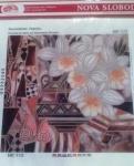 """Рисунок из ткани для вышивания бисером """"Вдохновение. Нарцисс"""""""
