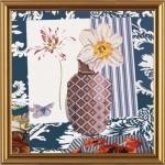 """Рисунок из ткани для вышивания бисером """"Арт-Нарцисс"""""""