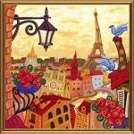 """Набор для вышивания бисером """"Париж. Зазеркалье"""""""